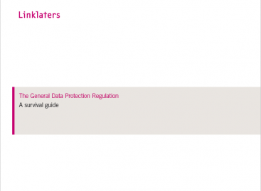 Download: The General Data Protection Regulation: A survival guide