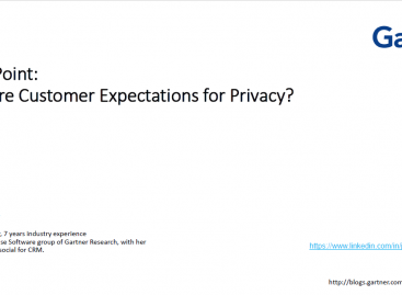 Download: What are Customer Expectations for Privacy