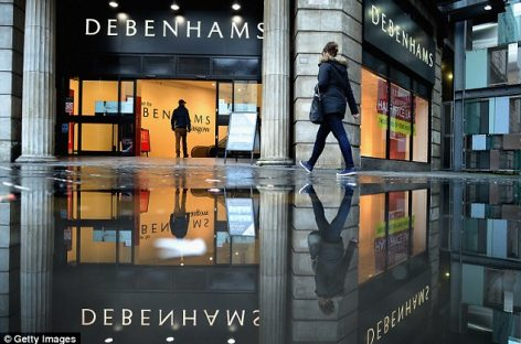 Thousands of Debenhams flower delivery service customers who ordered bouquets online have card details stolen