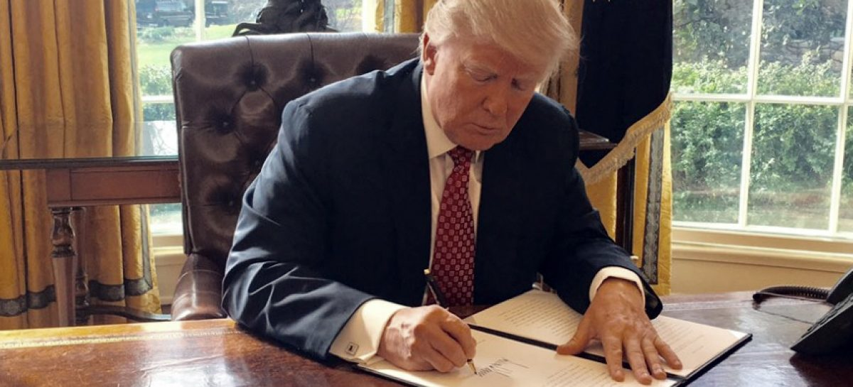 Trump Finally Signs Cybersecurity Executive Order