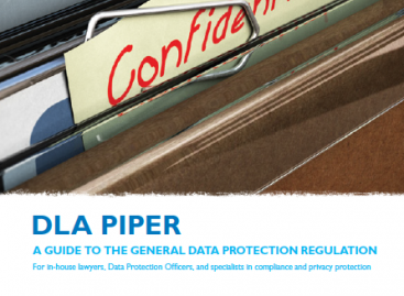 DOWNLOAD: DLA Piper – A Guide to the General Data Protection Regulation