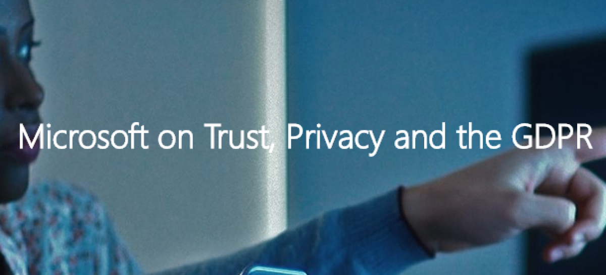 EVENT: Microsoft on Trust, Privacy and the GDPR