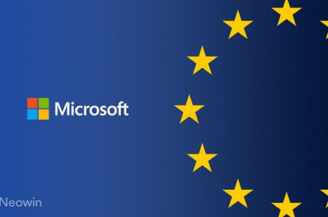Microsoft provides tools and resources to help companies comply with the EU's GDPR