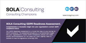 SOLA Technology GDPR Readiness Infographic
