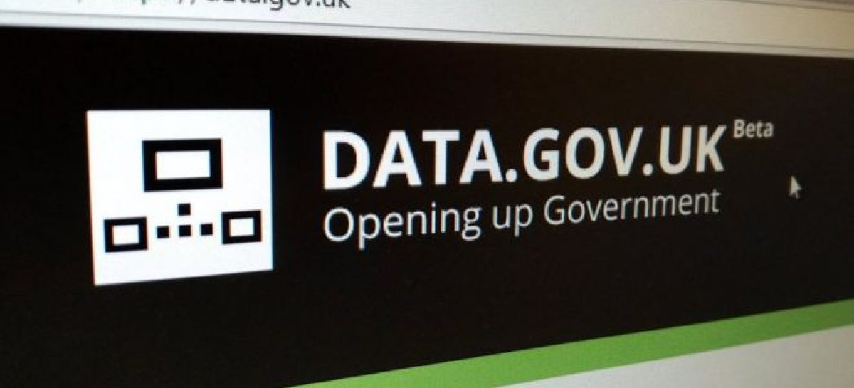 Government data site user details leak