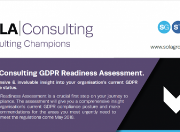 SOLA Consulting GDPR Readiness Assessment Infographic