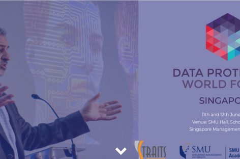 Data Protection  World Forum Singapore 11th and 12th June 2019